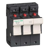 SCHNEIDER FUSE HOLDER 3P 50A FOR 14X51 FUSES